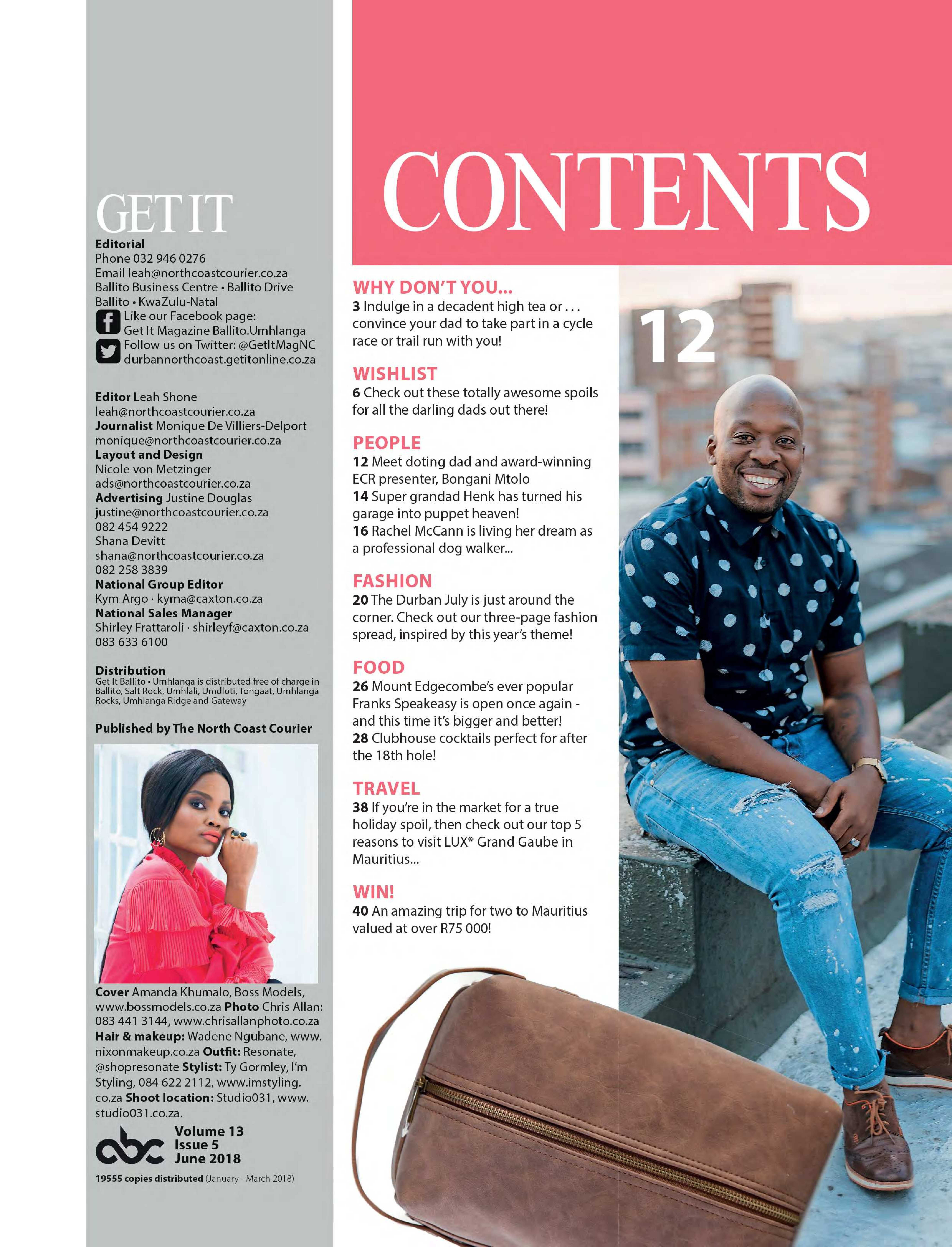 Get It Magazine (Ballito/Umhlanga) June 2018 | Get It Ballito Umhlanga