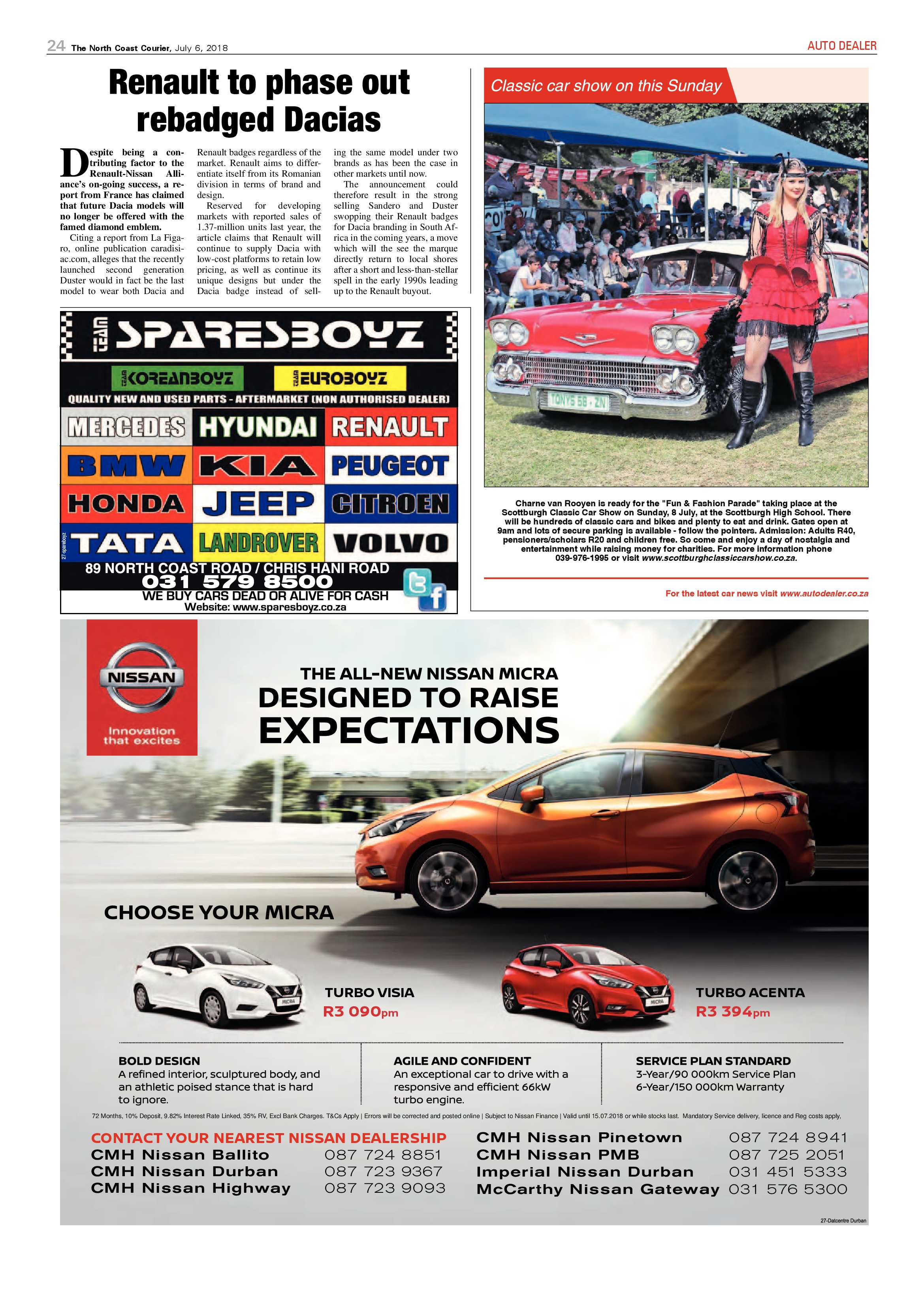 The North Coast Courier – 06 July 2018