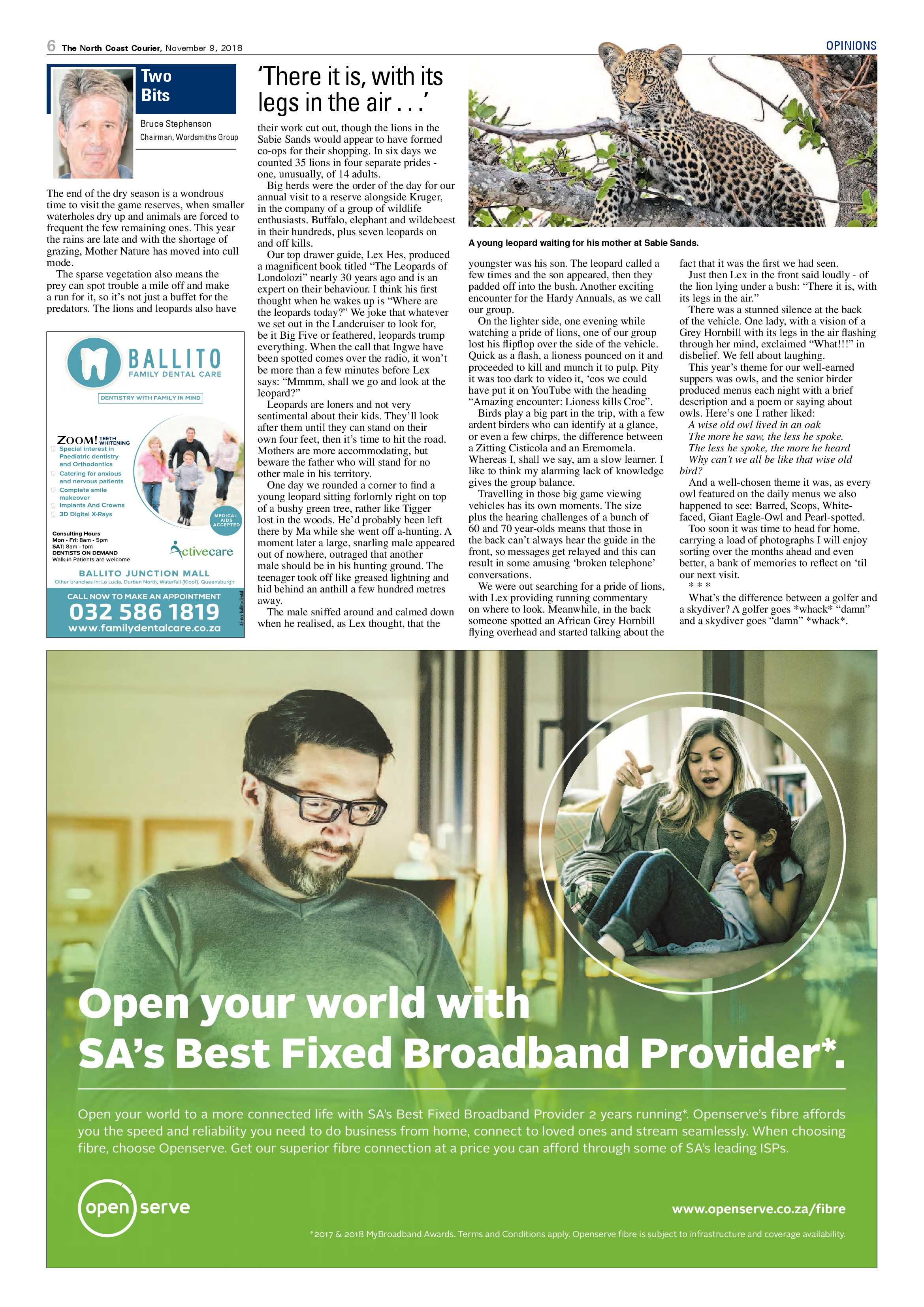 north-coast-courier-09-november-2018-epapers-page-6