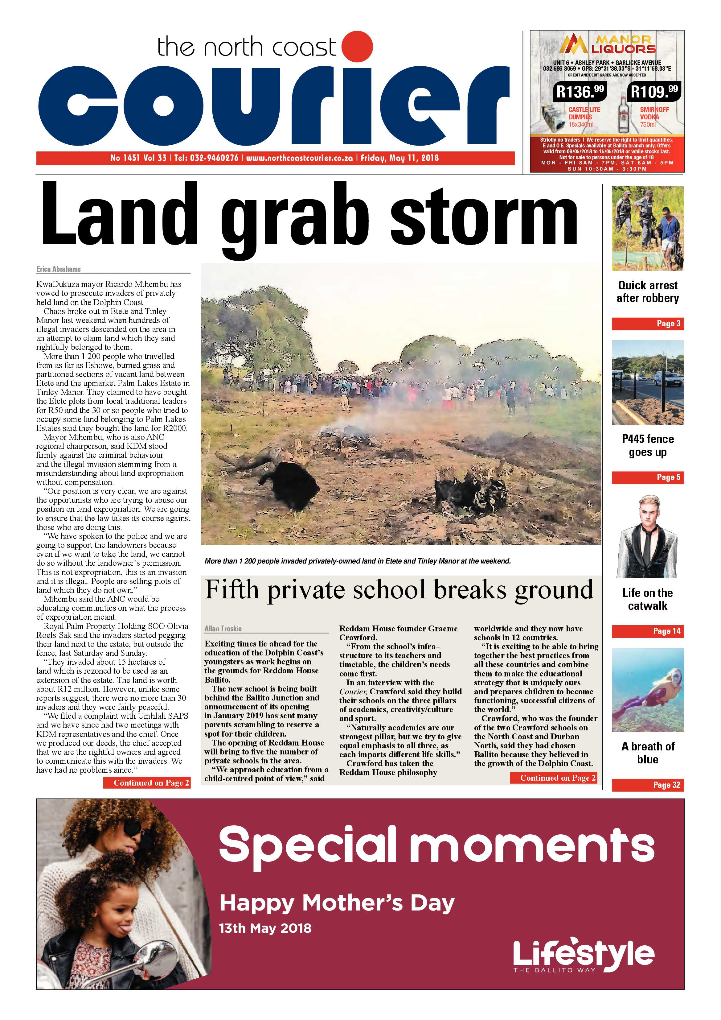 The North Coast Courier 11 May 2018