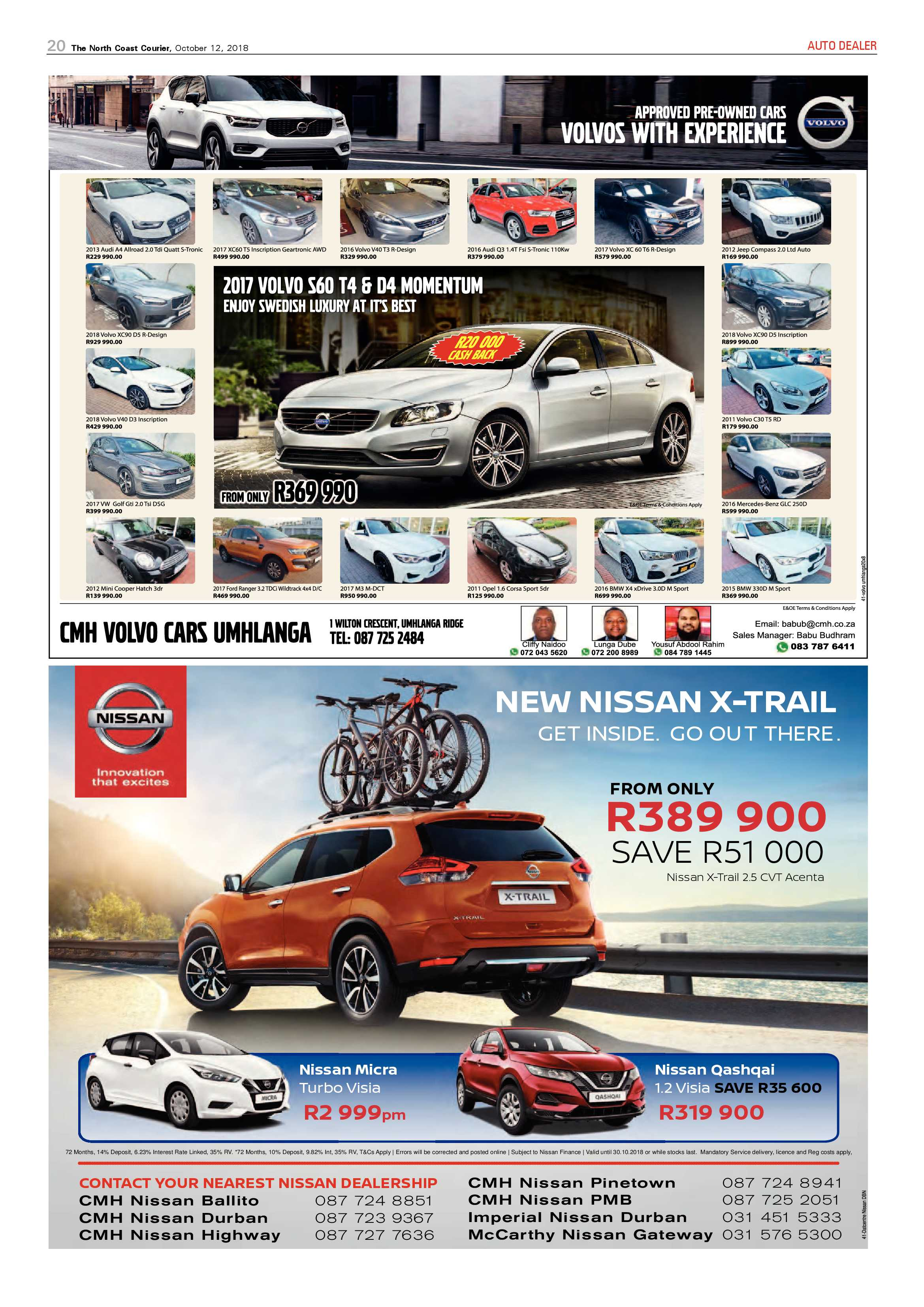 The North Coast Courier – 12 October 2018