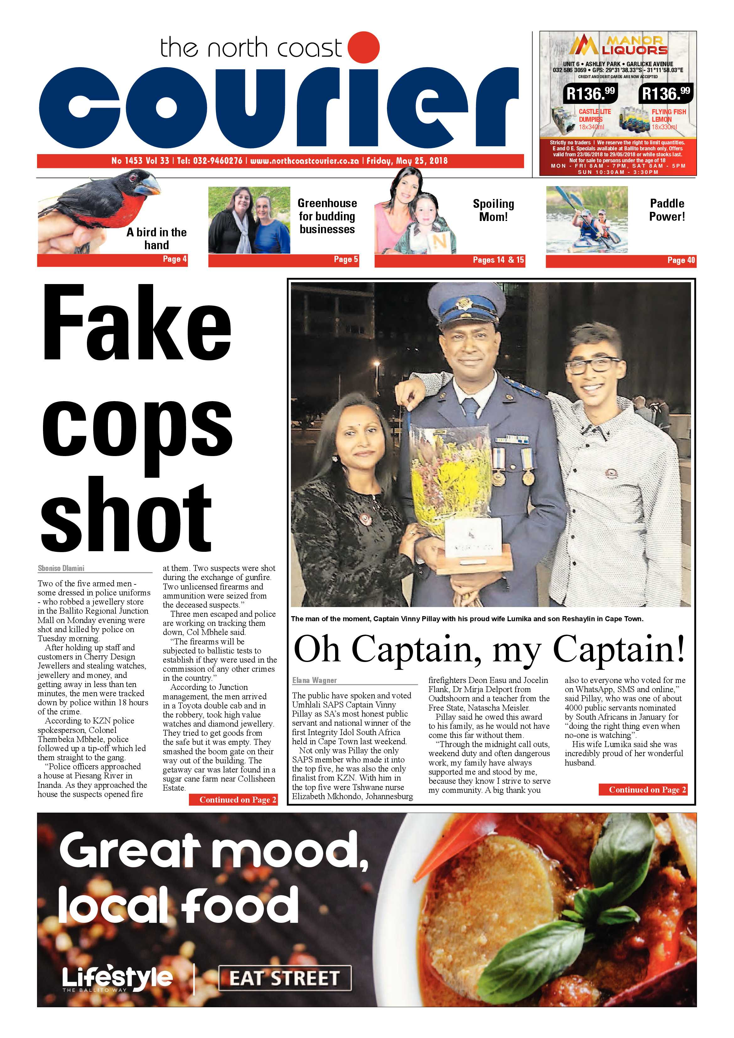 The North Coast Courier – 25 May 2018 | North Coast Courier