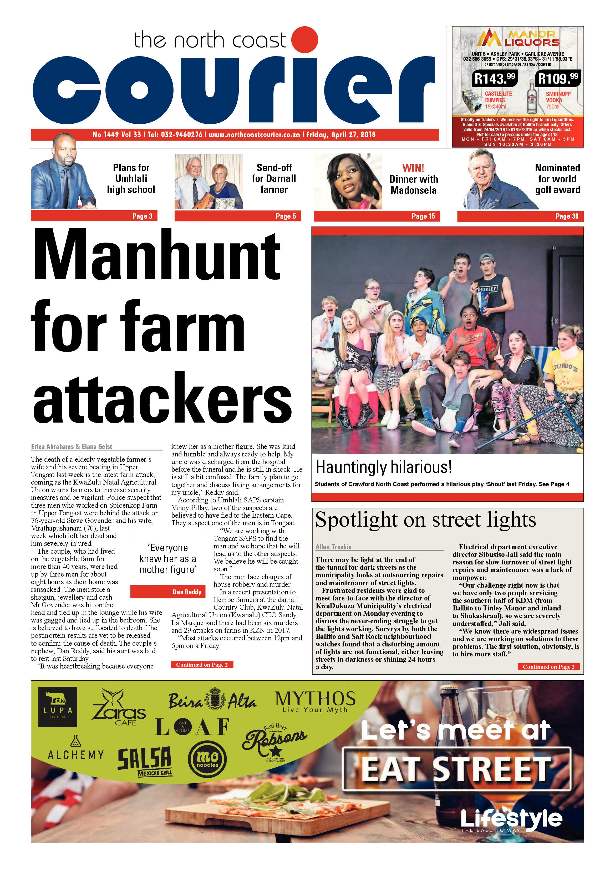The North Coast Courier – 27 April 2018